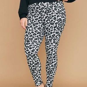 NEW Lane Bryant Leopard Pants